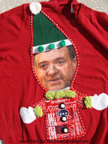 Mike Huckabee Christmas Sweater