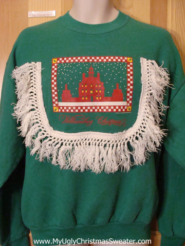Cheap Tacky Sweatshirt WILLIAMSBURG CHRISTMAS