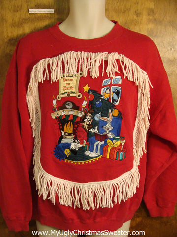 Bugs Bunny Holiday Funny Christmas Sweatshirt