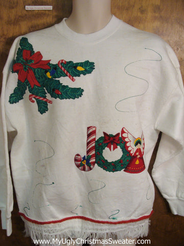 Cheap JOY Christmas Sweatshirt
