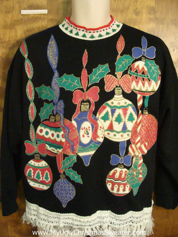 Amazing 80s Ornaments Christmas Sweatshirt
