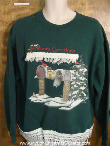 Cheap Green Christmas Sweatshirt