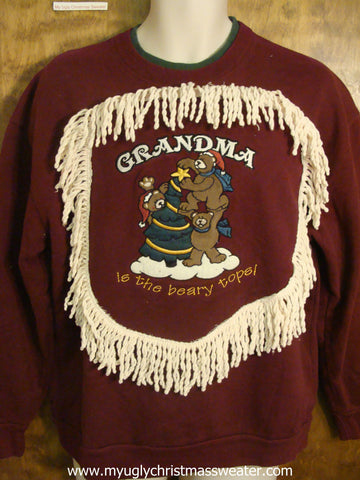 Cheap Grandma Christmas Sweatshirt