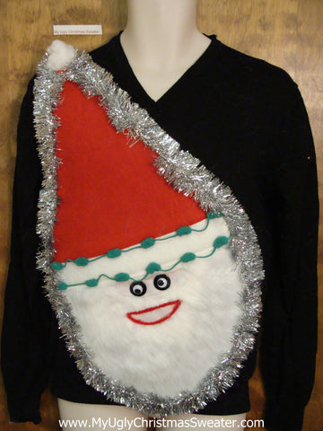 Wacky Santa Ugly Christmas Sweater
