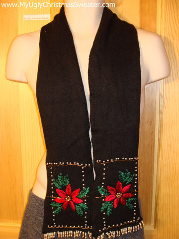 Ugly Christmas Sweater Party Scarf Accessory (z18)