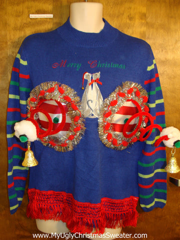 Crazy Cat Lady Ugly Christmas Naughty Sweater