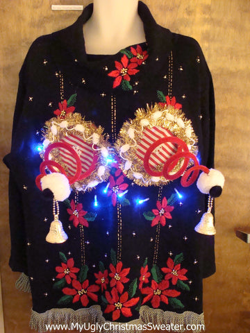 Worst Ever 80s Mess Ugly Christmas Naughty Sweater