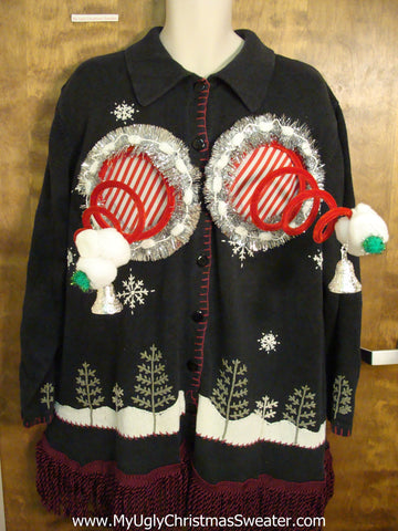 Big Size 3xl  Naughty Ugly Christmas Sweater