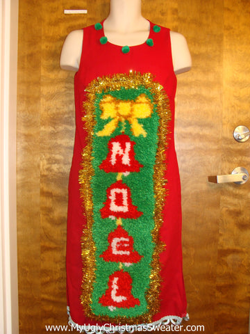 Amazing NOEL Christmas Sweater Dress