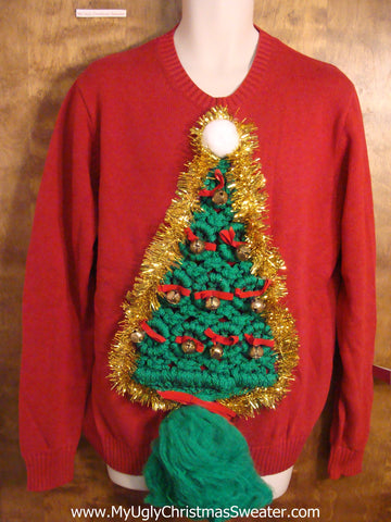 Best Ugly Christmas Sweater Macrame Tree