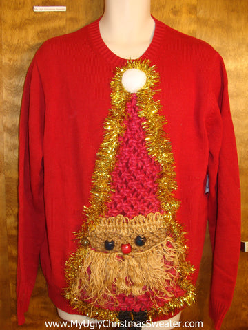 Best Horrible Crafty Santa Ugly Christmas Sweater