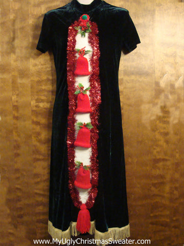 Best Ugly Christmas Dress with Crafty 3D Fun