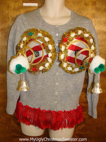 Naughty Christmas Sweater 3D Funny Ugly Winner