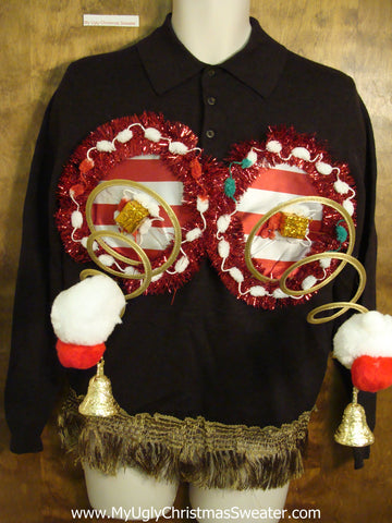 Funny Naughty Ugly Christmas Sweater