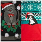 cat christmas sweaters