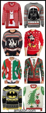 christmas sweaters for sale from Amazon