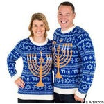 hanukkah sweater