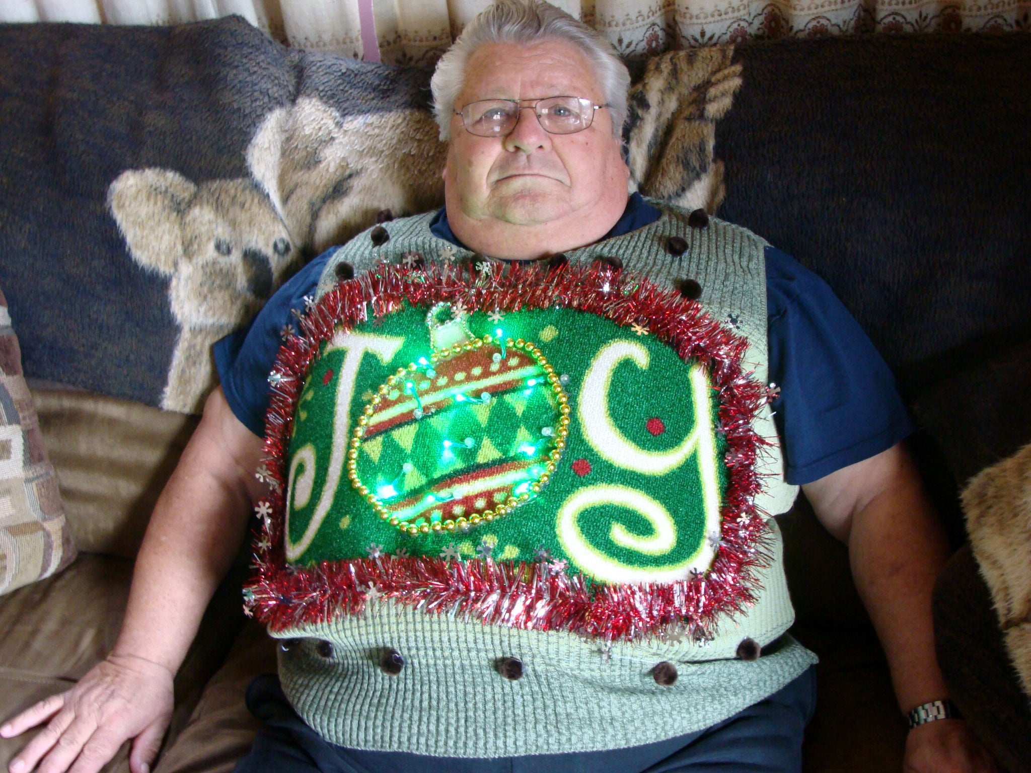 Press About My Ugly Christmas Sweater