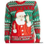 trump christmas sweater