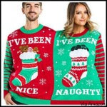 two person christmas sweaters