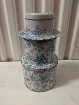 Stackable Decorative Tins