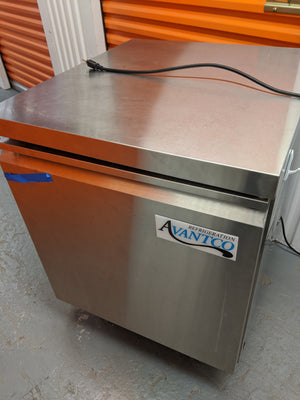 Avantco Under Counter Fridge
