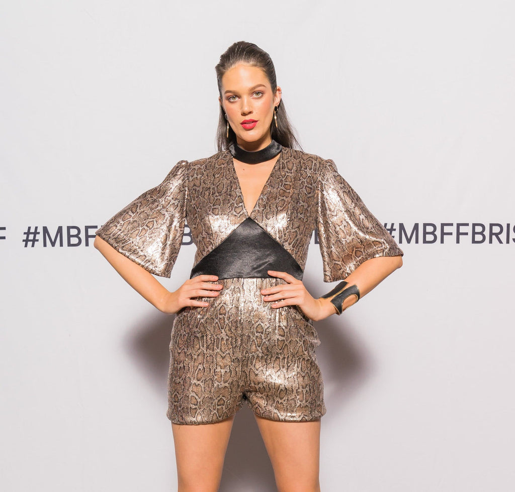 Alice Playsuit Mercedes-Benz Fashion Festival