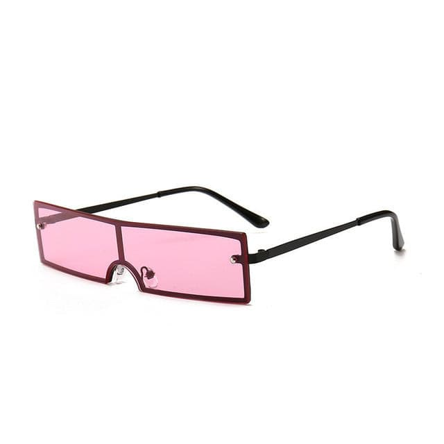 GIGI Rectangle Transparent Shades - Kortni Portia
