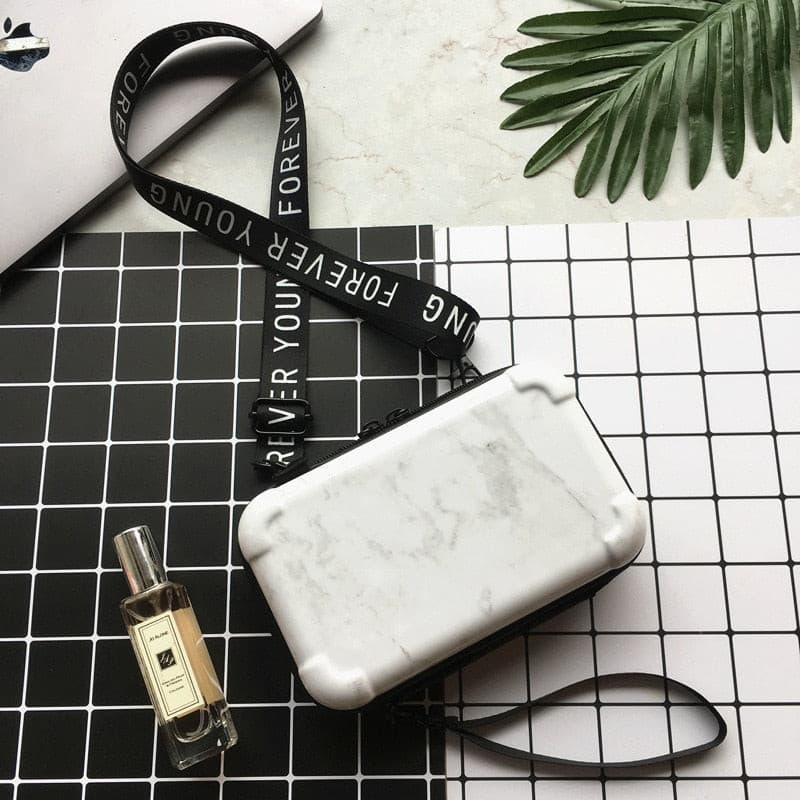 kortni-portia | Marble Clutch Bag | Women - Bags - Clutches & Evening.