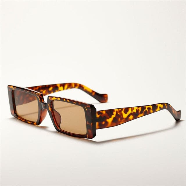 MARIE Retro Rectangle Sunglasess - Kortni Portia