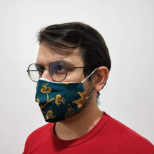 Load image into Gallery viewer, Reusable Adult Cotton Batik Cloth Face Mask