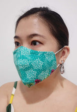 Load image into Gallery viewer, Reusable Adult Cotton Batik Cloth Face Mask - TroveofGaia