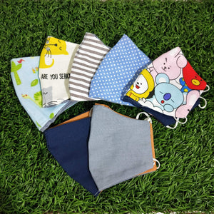 Reusable Organic Cotton Children Cloth Mask