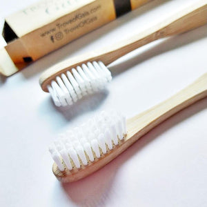 Trove of Gaia Bamboo Adult Toothbrush (Medium Bristles)