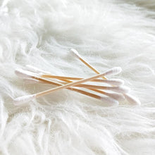 Load image into Gallery viewer, Bamboo Cotton Ear Buds (200 Pieces)