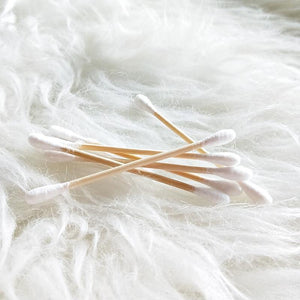 Bamboo Cotton Ear Buds (200 Pieces)