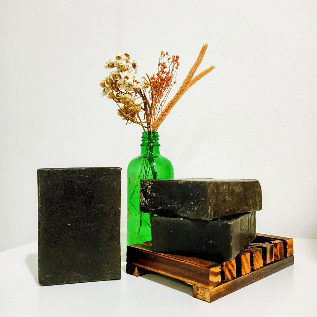 Charcoal & Bearberry Clarifying Body Soap