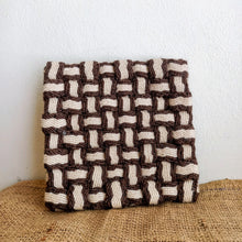 Load image into Gallery viewer, Reclaimed Fabric Kitchen Heat Rest Pads - TroveofGaia