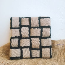 Load image into Gallery viewer, Reclaimed Fabric Kitchen Heat Resting Trivet Pads