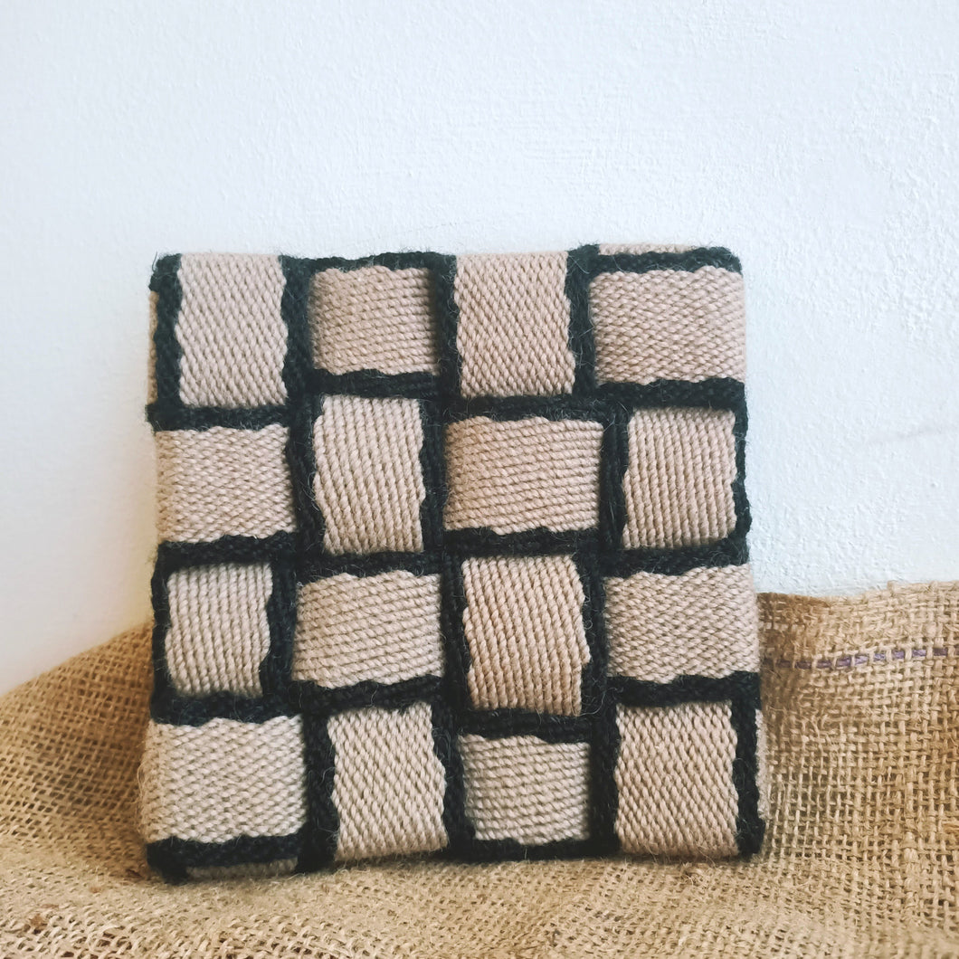 Reclaimed Fabric Kitchen Heat Resting Trivet Pads