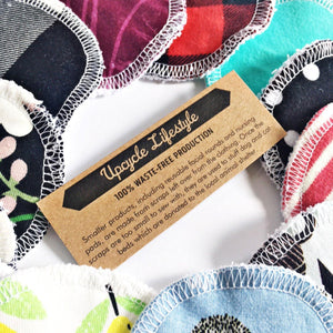 Reusable makeup facial washable cotton pads