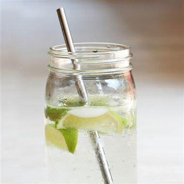 Reusable Stainless Steel Straight Straw