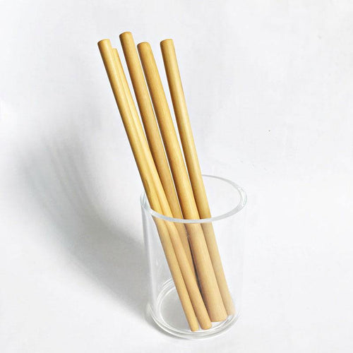 Reusable Bamboo Drinking Straws (Child-safe) - TroveofGaia
