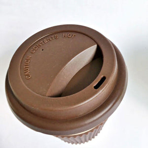 Reusable Bamboo Fibre Coffee cup - TroveofGaia