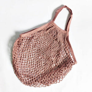 Reusable Cotton Crochet Mesh Grocery Bag