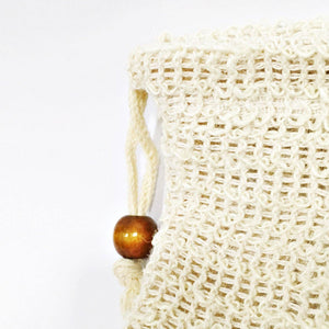 Hemp Knitted Soap Bag