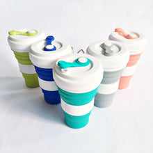 Load image into Gallery viewer, Reusable Silicon Collapsible Drinking Cup - TroveofGaia