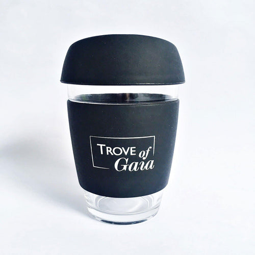 Reusable Borosilicate Glass Coffee Cup