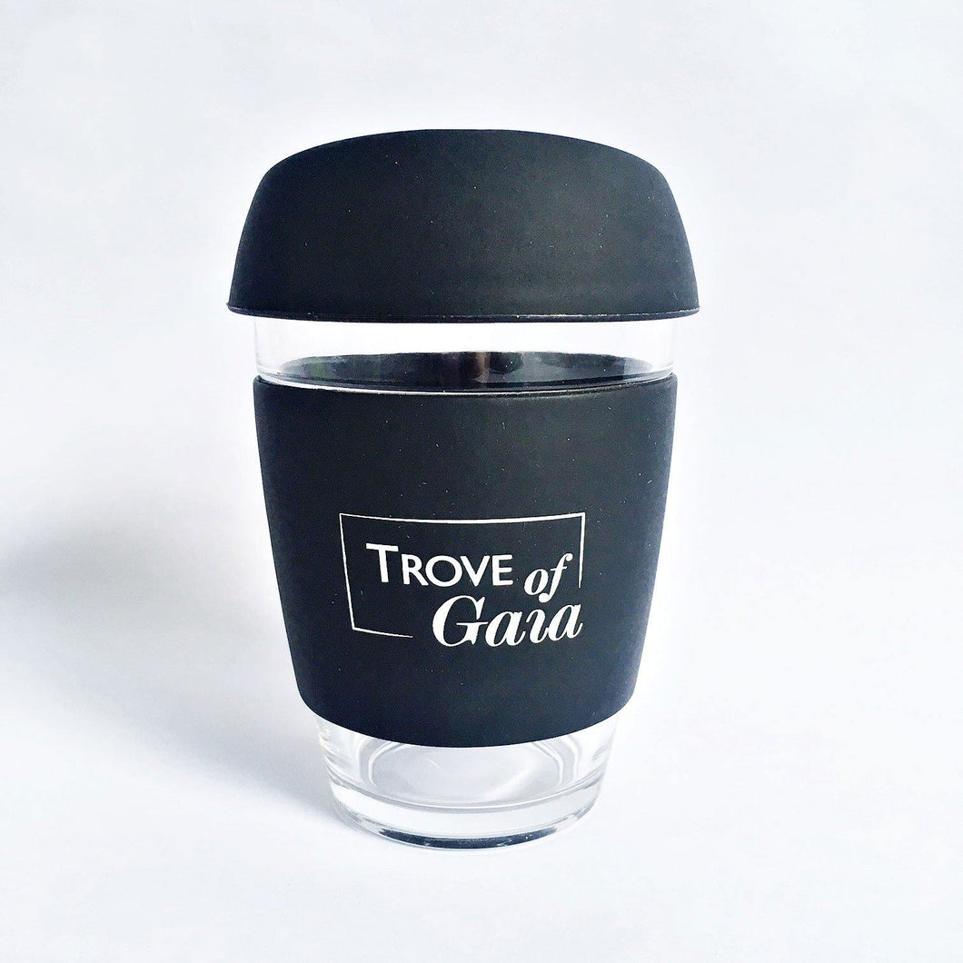 Reusable Borosilicate Glass Coffee Cup - TroveofGaia