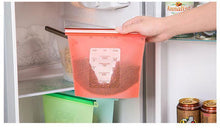 Load image into Gallery viewer, Reusable Silicone Food Bag
